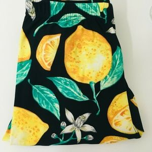 Agnes & Dora Lemon Print Leggings